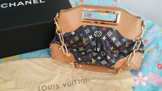 LV村上隆兩用包包