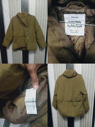 Zara Jacket bulu angsa