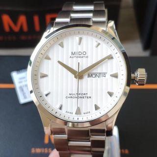美度MIDO-舵手系列條形錶盤自動機械男士腕錶M005.431.11.031.00
