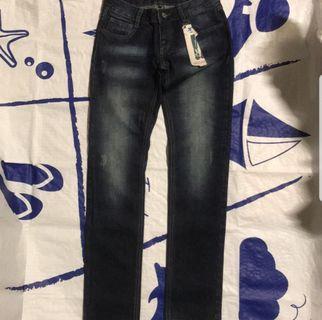 牛仔長褲 #剁手時尚