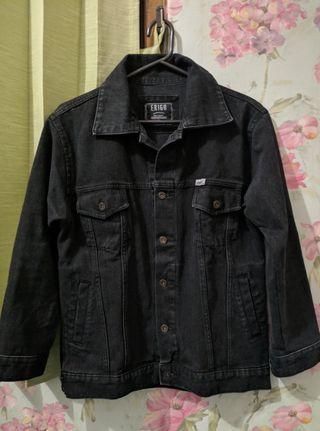 Jaket Jeans Erigo - Black M