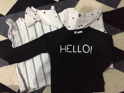 sweatshirt girl baju budak