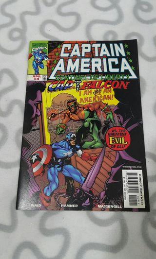 Captain America: Sentinel of Liberty #8 (1998, Marvel)