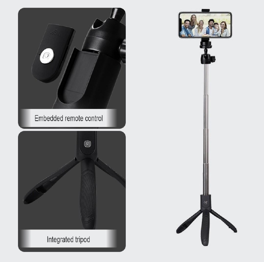 360° Bluetooth Selfie Stick & Tripod