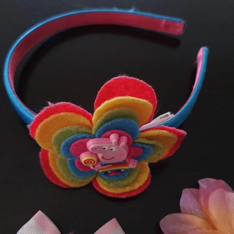 42+ pieces Bulk hair accessories Hairbands, alligator hair clips, bows, snap clip
