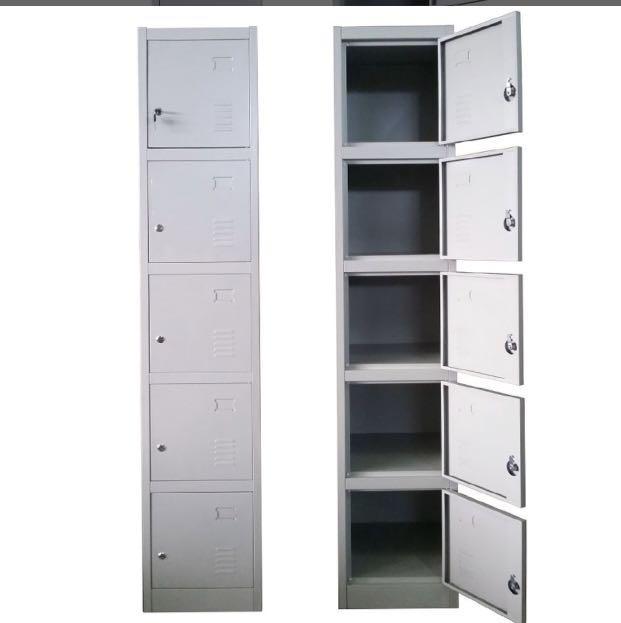5 Door Locker - grey