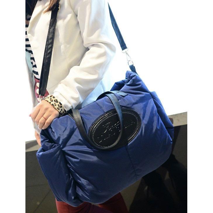 限量大特價 韓系 爆款 大容量空氣包 超輕超實用大包 肩背包 手提包 斜背包 媽媽包