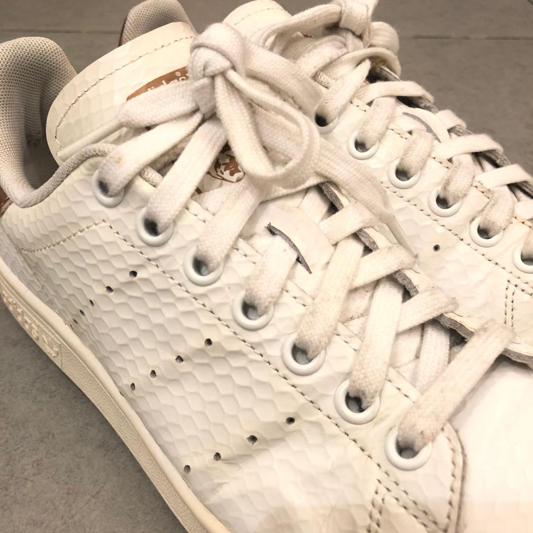 Adidas Stan Smith bronze white runners sneaker shoes 女裝運動波鞋