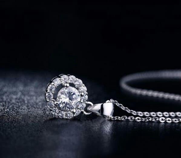 Annie necklace 🍀 sipver lapis emas 18k