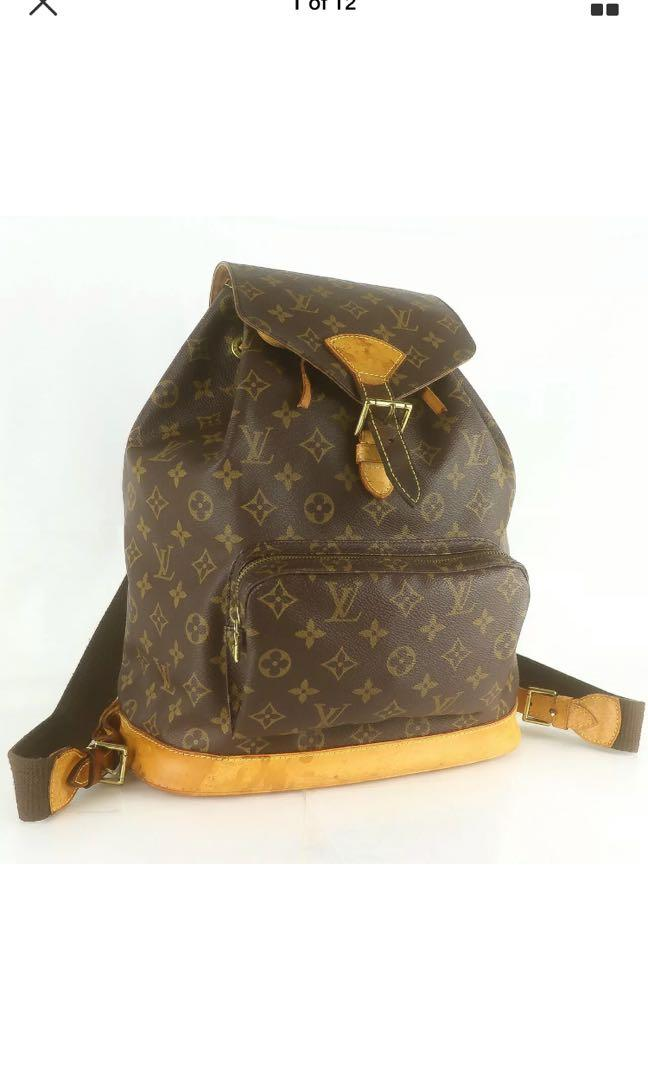 Authentic Louis Vuitton backpack