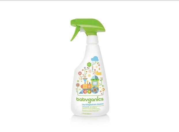 BABYGANICS 玩具枱椅清潔劑 無香味