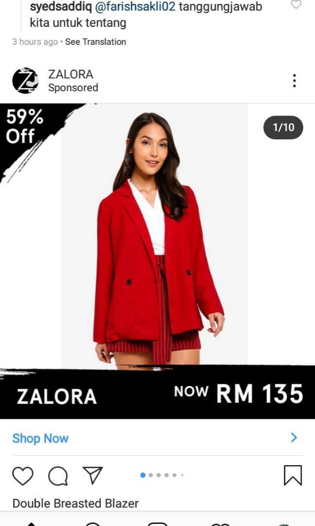Blazer / coats red colour