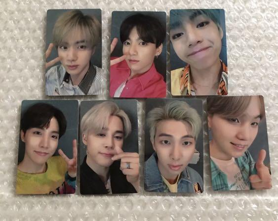 BTS japan single lights/boy with luv official photocard