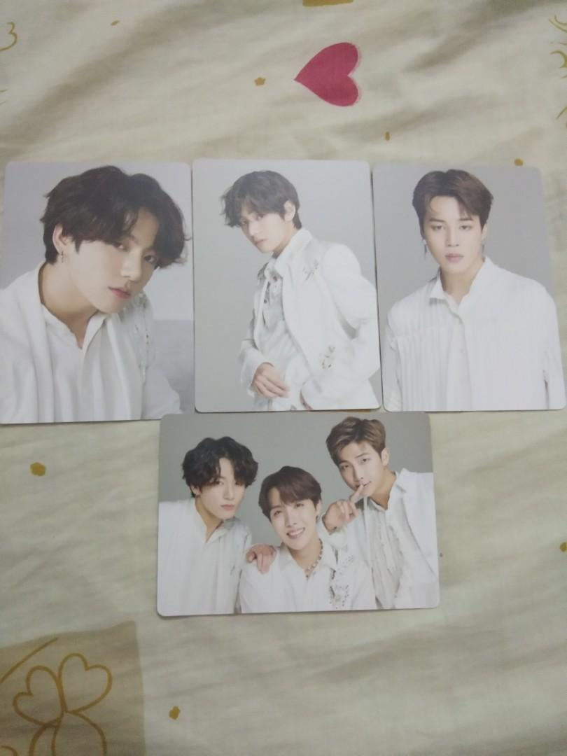 BTS mini photocard love yourself speak yourself the final merchandise