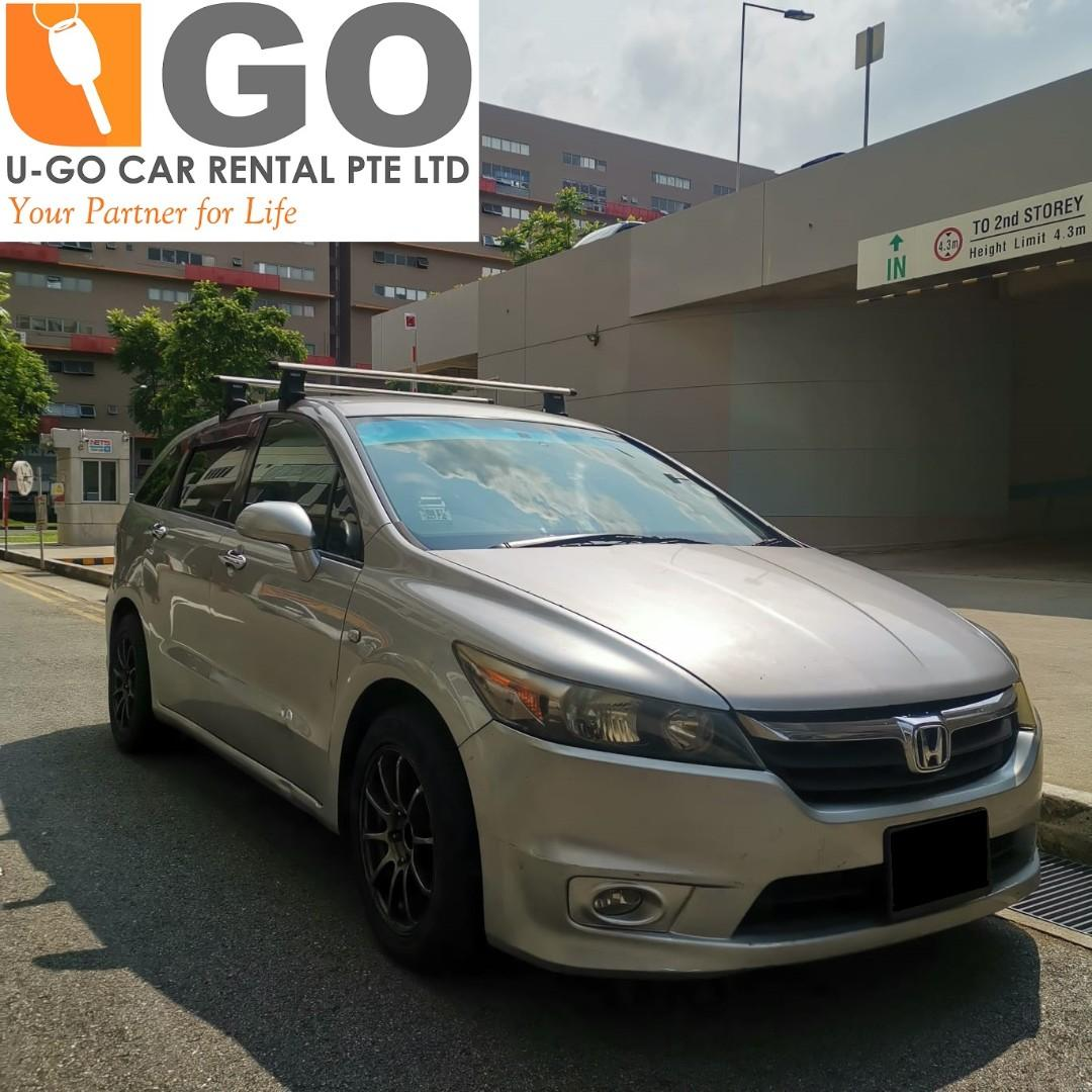 CAR FOR RENT-HONDA STREAM 1.8A-7 SEATER CAR FOR RENT/ GRAB / GOJEK/ TADA / PERSONAL USEAGE