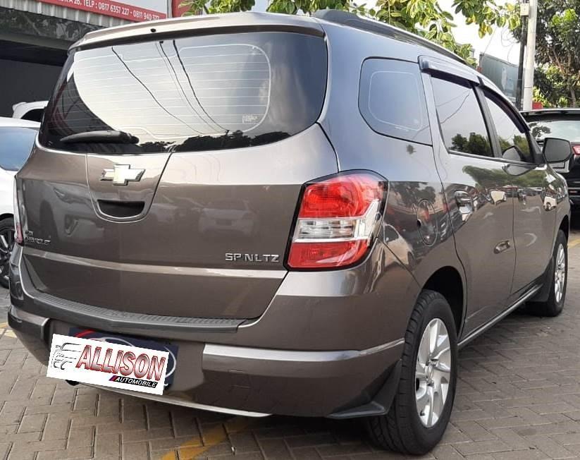 Chevrolet Spin 1.3 Manual Diesel 2014 Abu Abu Dp 38,9 Jt No pol Ganjil