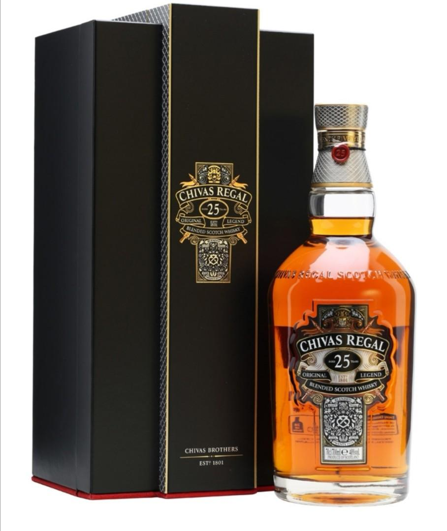 Chivas Regal 25 Year Old Blended Scotch Whisky 700ml