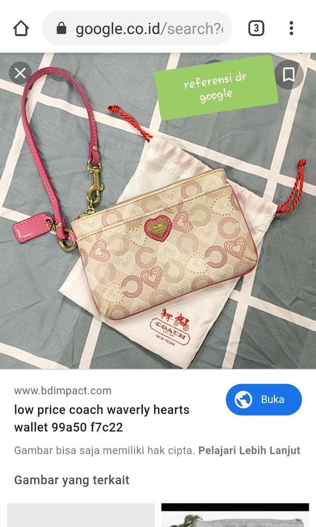 🚫SOLD via Prelo🚫 Coach Wrislet Authentic