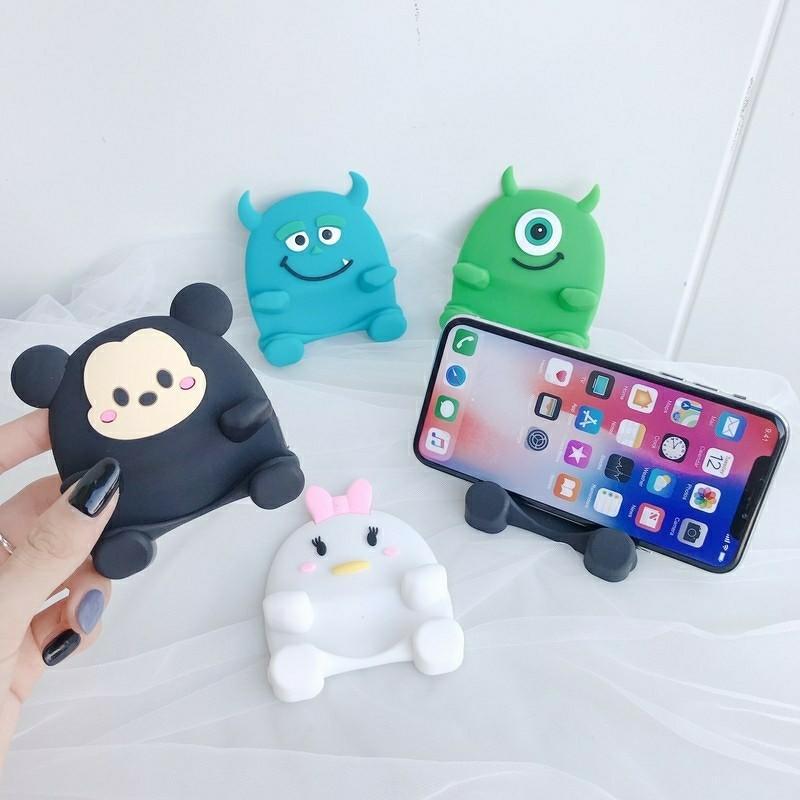 Cute Cartoon Phone Stand Holder For Handphone