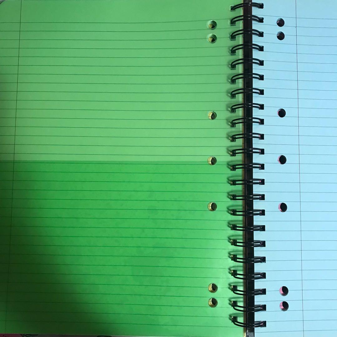 Exercise books, note pads, note books, graph paper, plastic sleeves, visual art diary, canvas and more