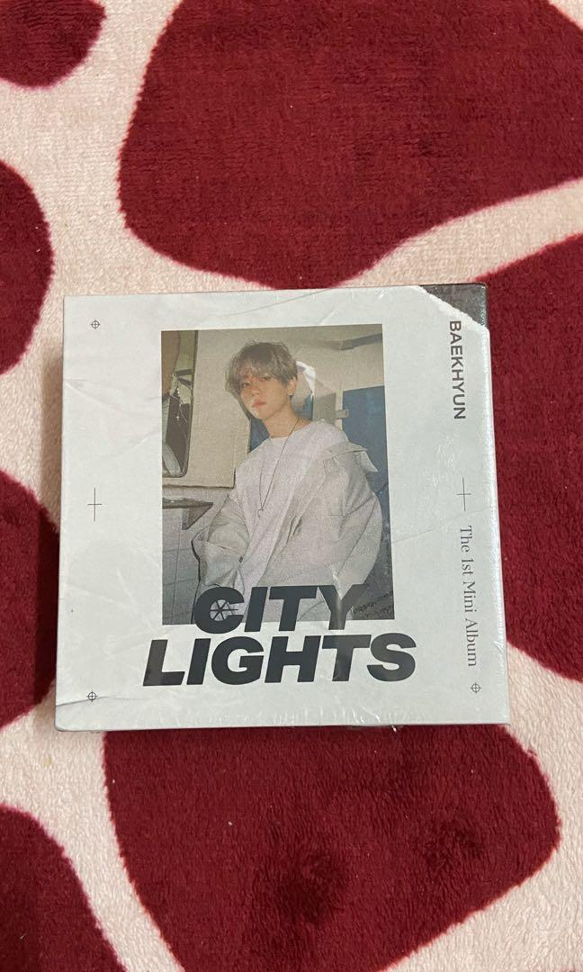EXO SC What A Life Kihno EXO Baekhyun City Lights Kihno  (Without pc and poster)