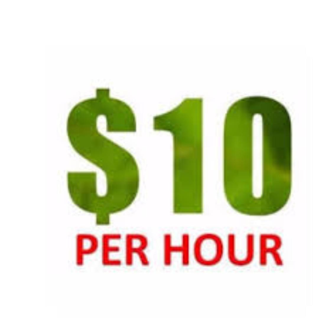 F&B FOOD RUNNER @ $10/HOUR Weekly Pay!