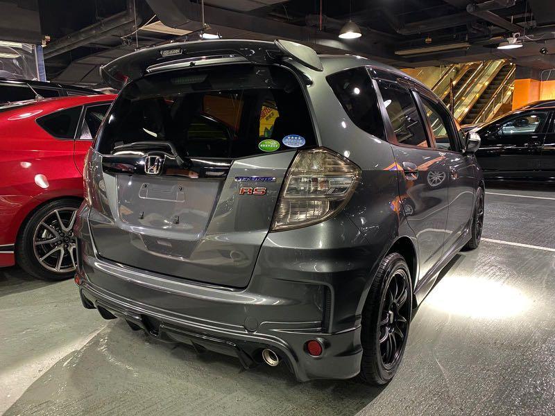 FIT RS Hybrid 2013 六速棍波MUGEN 包圍尾翼雨擋