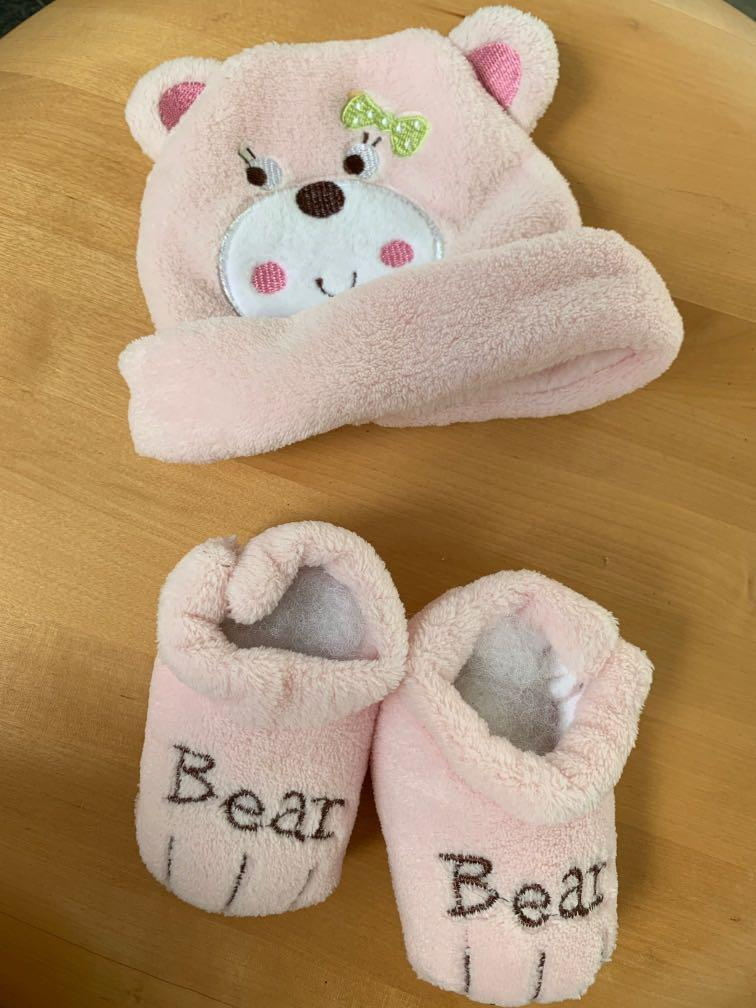 FREE Baby shoes, hat and pillow