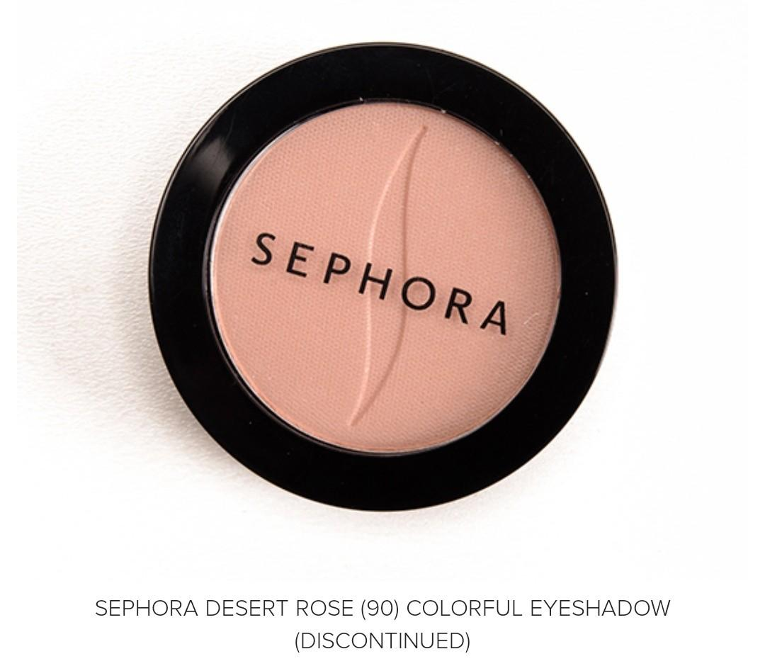 FREE with any purchase (Sephora Colorful Eyeshadow- Dessert Rose)