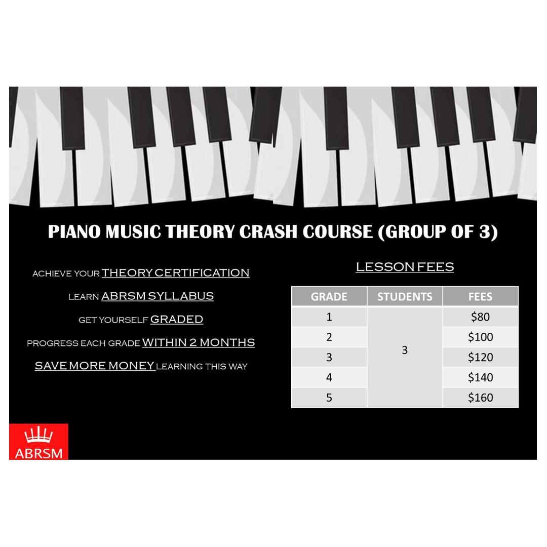 Fun Learning Piano Group Music Theory Lessons [ABRSM]