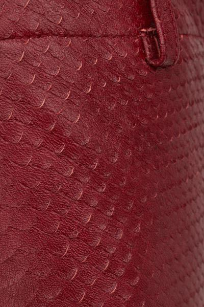 GIAMBATTISTA VALLI X H&M Red Leather Pants US10 UK14