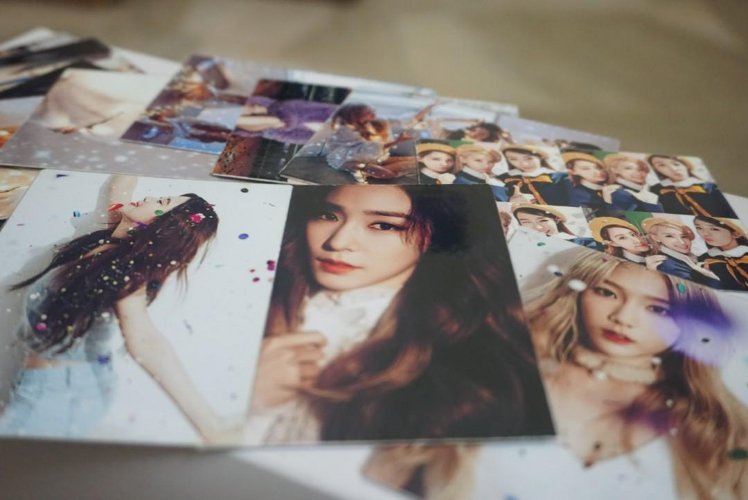 Girls' Generation SNSD TaeTiSeo photocards (16 pieces)