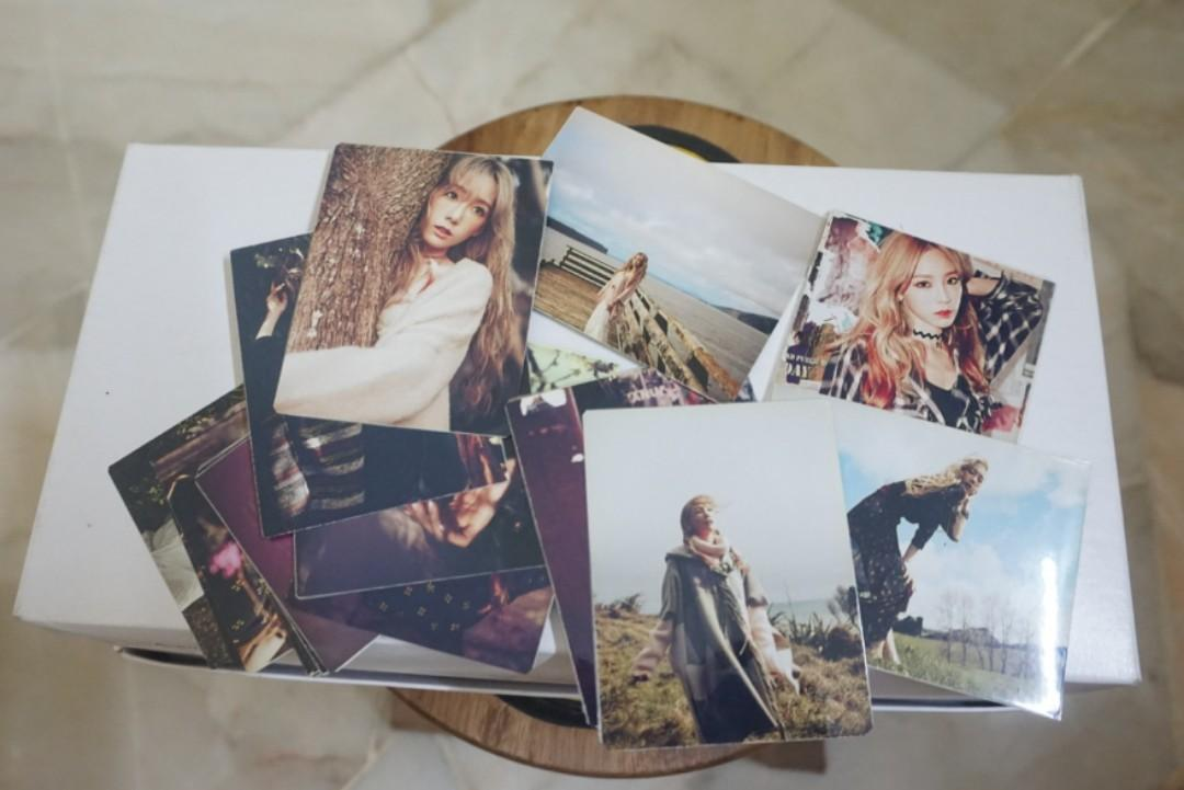 Girls' Generation SNSD Taeyeon photocards (16 pieces)