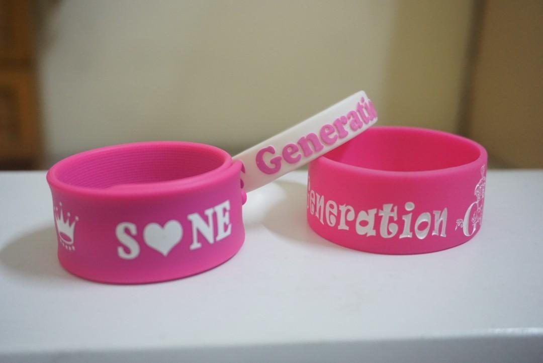 Girls' Generation SNSD WristBand/Bracelet/Wrist Strap