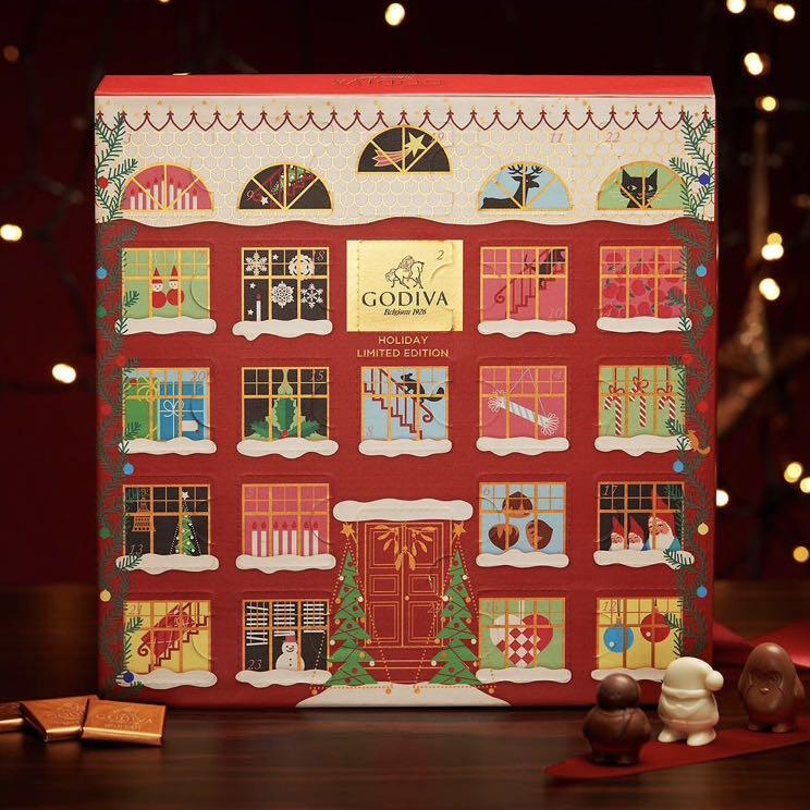 Godiva Advent Calendar Christmas X'mas 聖誕倒數月日曆2019 朱古力巧克力禮盒套裝組合 100% real 英國代購 有單
