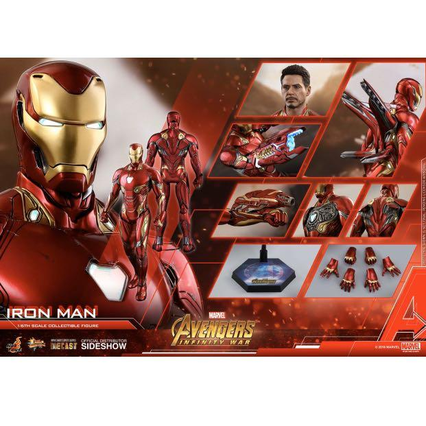 Hot Toys Iron Man Mark 50 / L