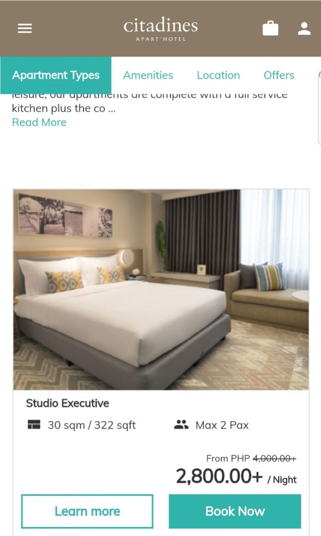 Hotel Citadines Cebu City (2 nights)