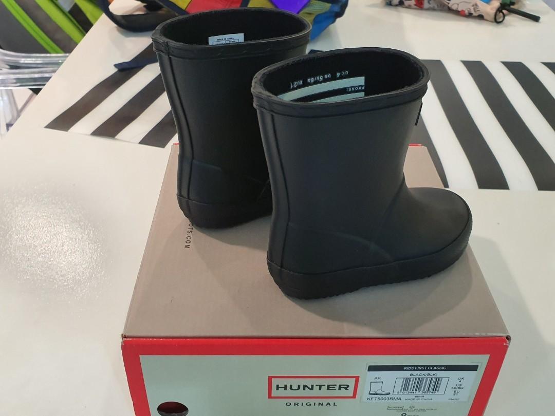 Hunter Winter Boots UK4 / US5B,US6G