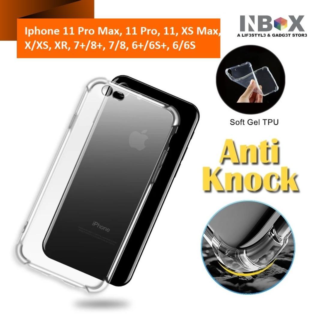 Iphone 11,11 Pro ,11 Pro Max Anti Shock Transparent Case