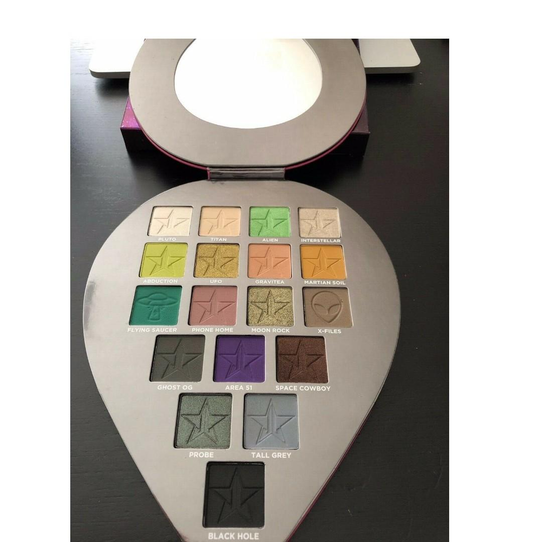 JEFFREE STAR ALIEN PALETTE BRAND NEW & AUTHENTIC [NO SWAPS, PRICE IS FIRM]