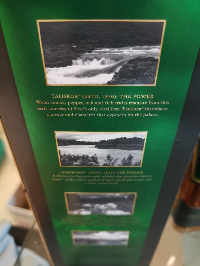 Johnnie Walker Green Label (Discontinued)