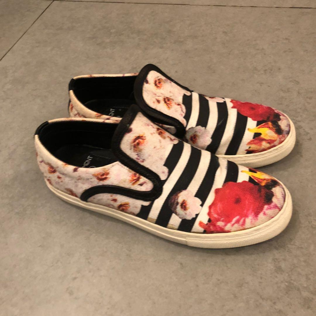 Korea women floral pattern slip on shoes sneakers 韓國女裝鞋