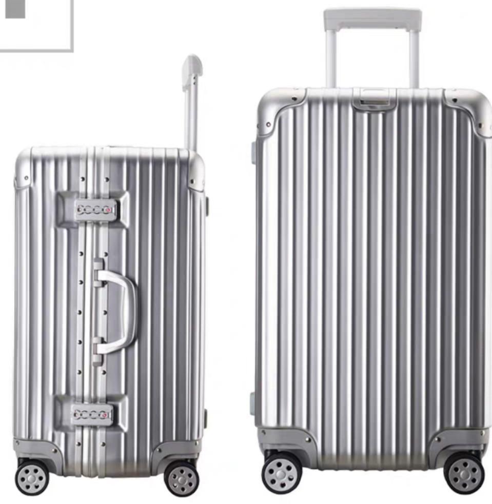 Luggage TSA LOCK SILVER 26 INCH