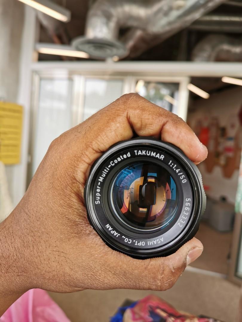 M42 50mm f1.4 Pentax Super Takumar