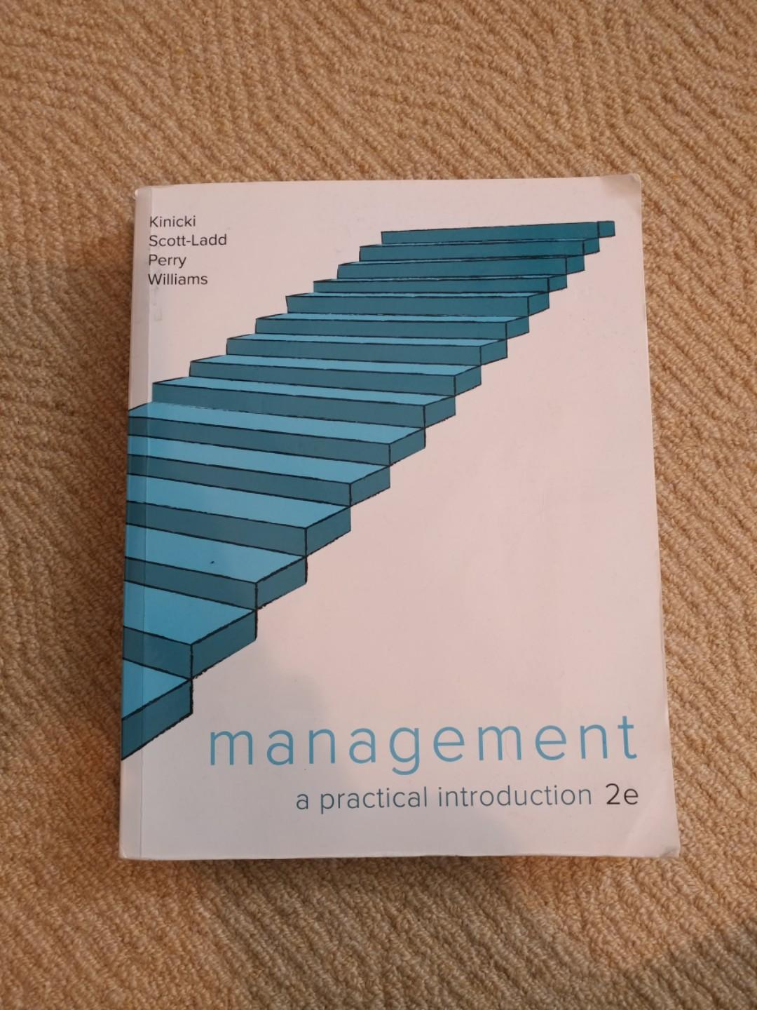 Management: a practical introduction (2nd ed.). Sydney, NSW: McGraw-Hill.