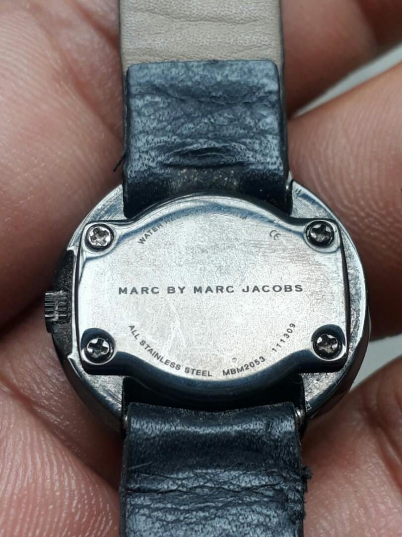 Marc Jacobs Watch Ladies Small CERAMIC Swiss Made AUTHENTIC Diamonds