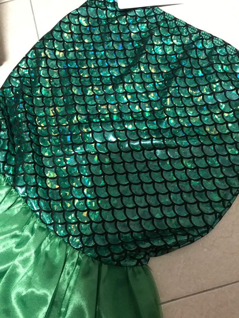 Mermaid costume 6-7 yrs old