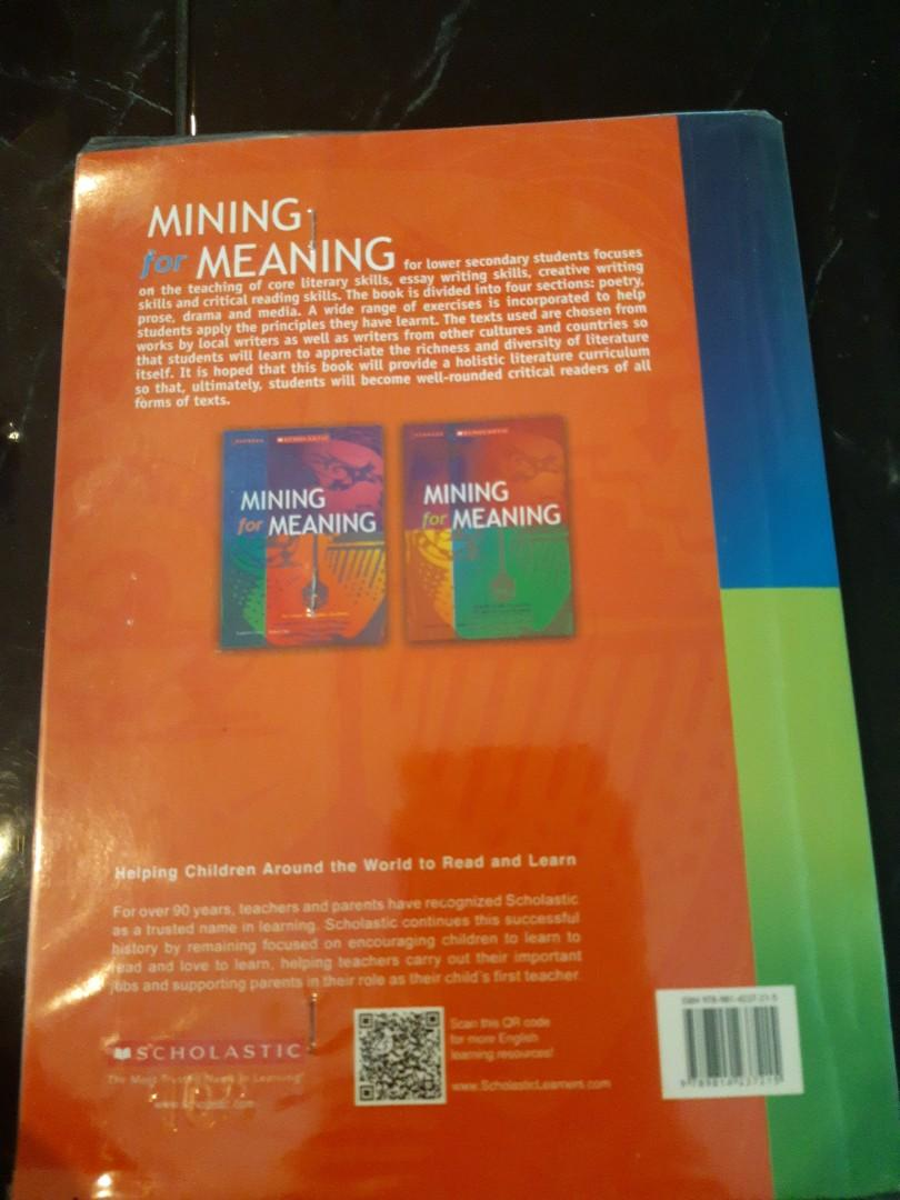 Mining for Meaning Lit book