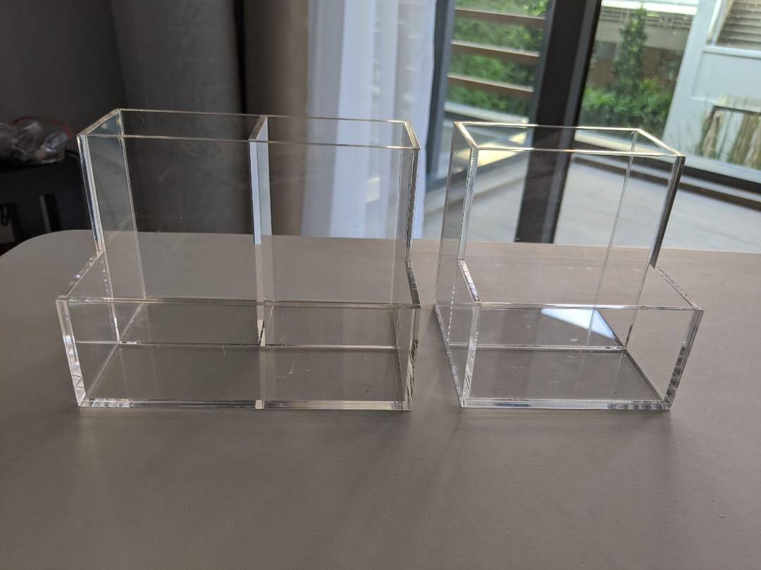 MUJI ACRYLIC STANDS both for $12 (Large $10; Small $8)