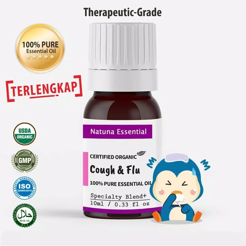 Natuna Essential Oil Blend Cough and Flu